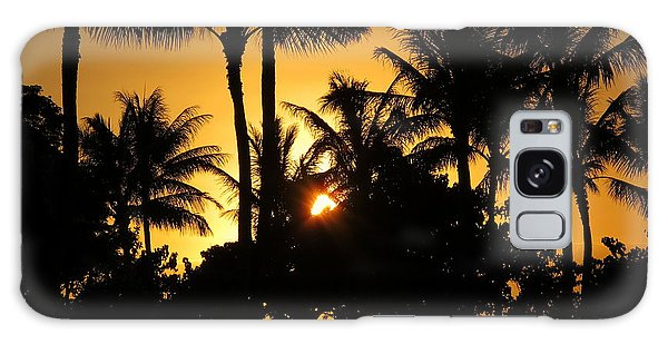 Sunset By The Beach Galaxy Case by Ranjini Kandasamy