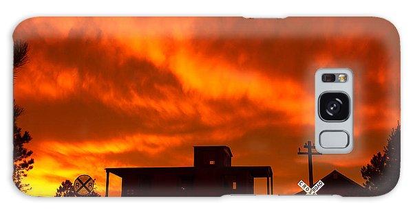 Sunset Caboose Galaxy Case