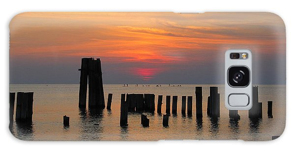 Sunset Cape Charles Galaxy Case by Richard Reeve