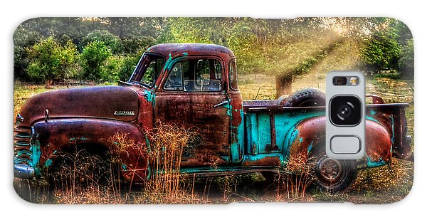 Sunset Chevy Pickup Galaxy Case by Ken Smith