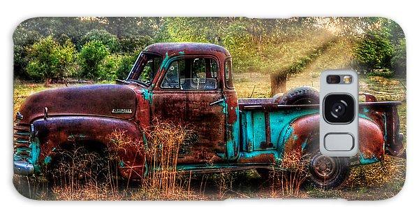 Sunset Chevy Pickup Galaxy Case