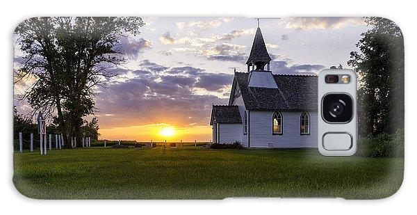 Sunset Church Galaxy Case