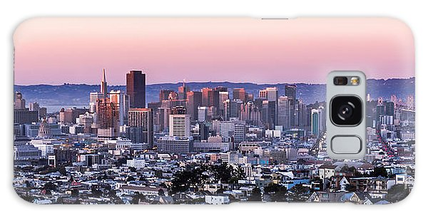 Sunset Cityscape Galaxy Case