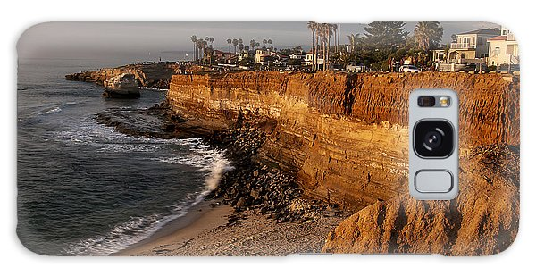 Sunset Cliffs 1 Galaxy Case