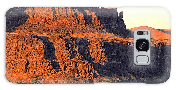 Sunset Cliffs At Horsethief  Galaxy Case