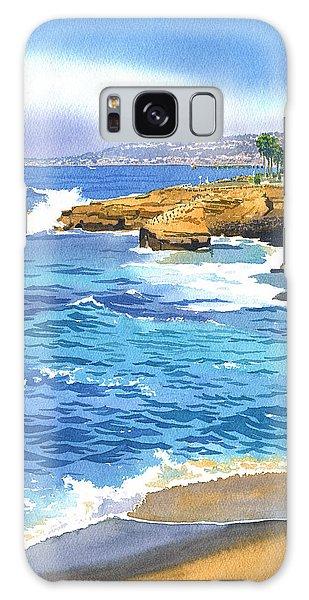 Sunset Cliffs Point Loma Galaxy Case