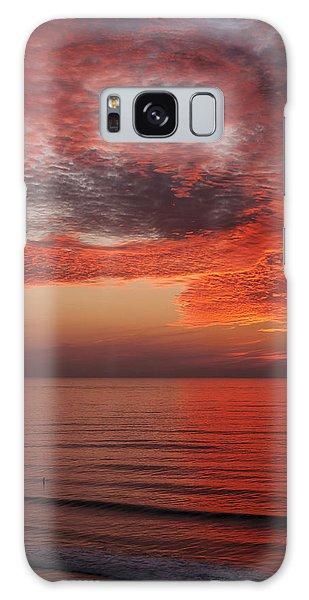 Sunset Cliffs Sunset 1 Galaxy Case