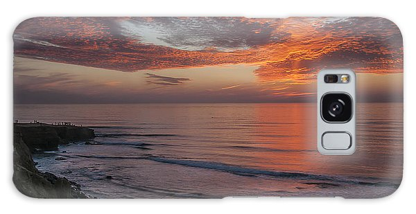 Sunset Cliffs Sunset 2 Galaxy Case