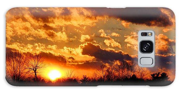 Sunset Clouds Galaxy Case