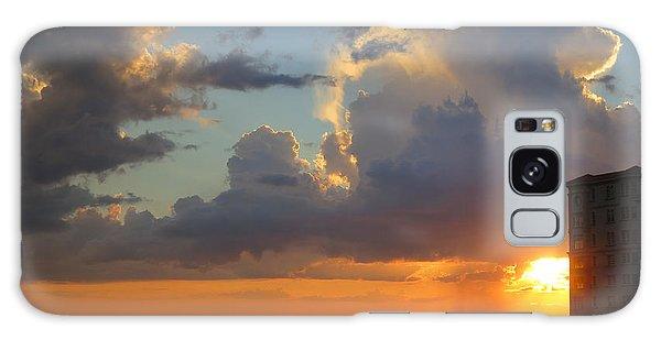 Sunset Shower Sarasota Galaxy Case
