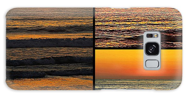 Sunset Collage Galaxy Case by Sharon Soberon