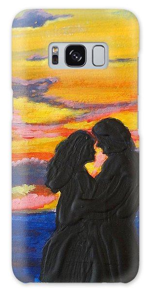 Sunset Couple Galaxy Case