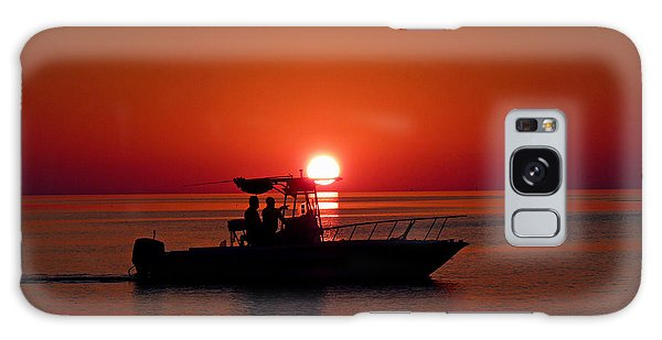 Sunset Cruise Galaxy Case by Susan Duda