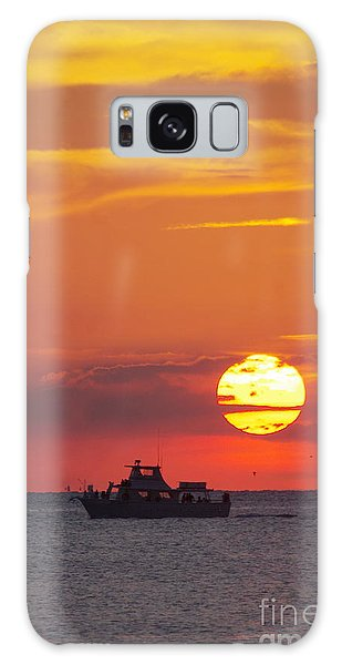 Sunset Cruise Galaxy Case
