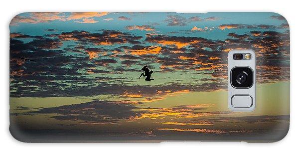 Sunset Dive Galaxy Case