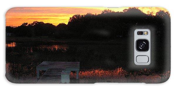 Sunset Dock Galaxy Case