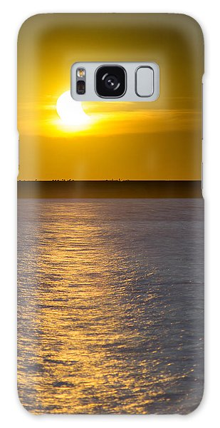 Sunset Eclipse Galaxy Case