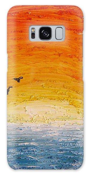 Sunset Galaxy Case by Edgar Torres