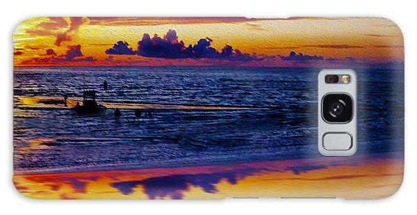 Sunset En Deux Galaxy Case