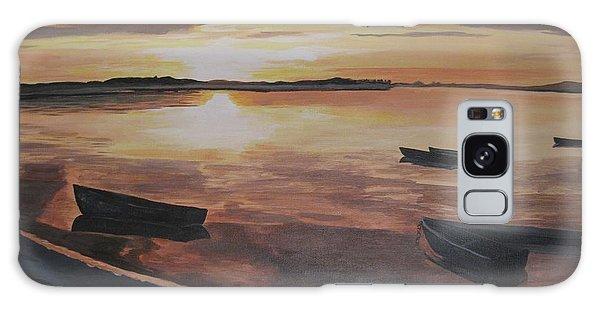 Sunset Evening Tide Galaxy Case