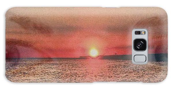 Sunset Eyes Inspirational Art By Saribelle Rodriguez Galaxy Case by Saribelle Rodriguez