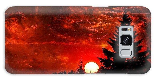 Sunset Fantasy I Galaxy Case