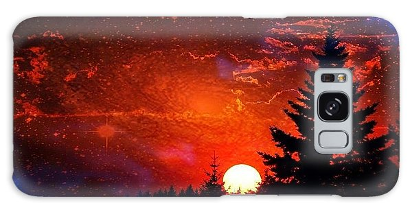 Sunset Fantasy Galaxy Case