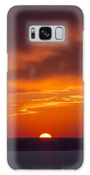 Sunset Fire Galaxy Case