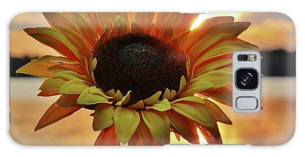 Sunset Flower Galaxy Case