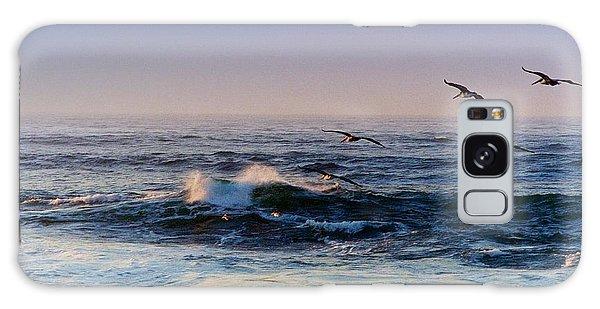 Sunset Fly Galaxy Case by Kathy Bassett