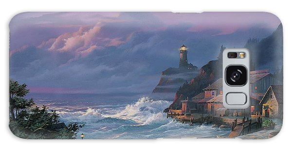 Sunset Fog Galaxy Case by Michael Humphries