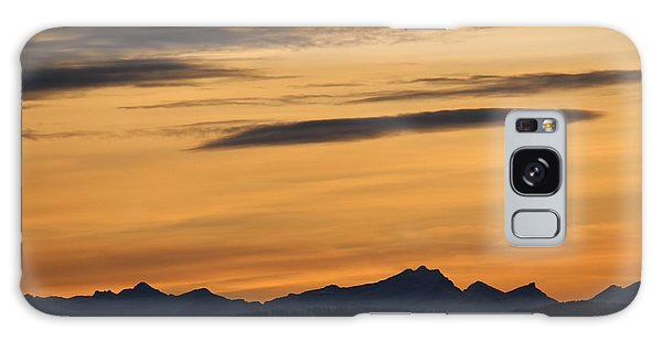 Galaxy Case featuring the photograph Sunset From 567 by Ann E Robson