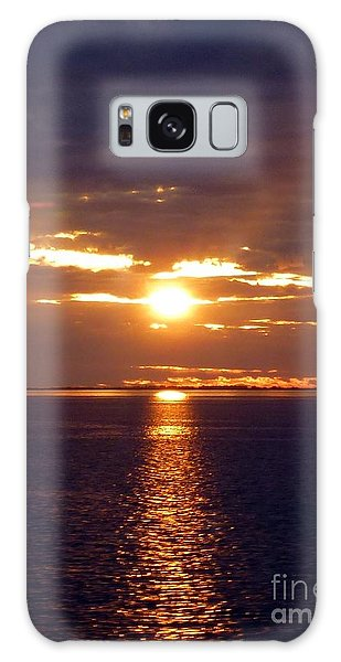 Sunset From Peace River Bridge Galaxy Case by Barbie Corbett-Newmin