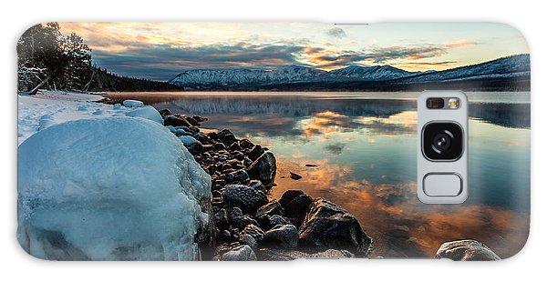 Sunset Frozen Galaxy Case by Aaron Aldrich