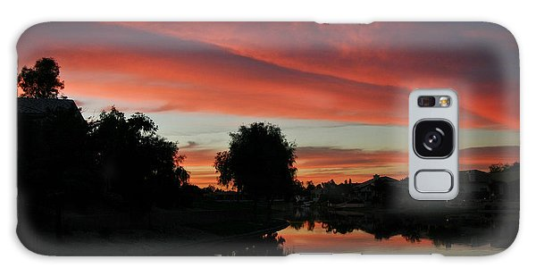 Sunset Gilbert Arizona 2004 Galaxy Case
