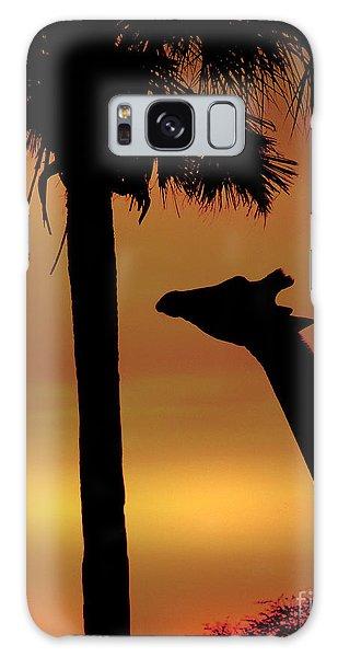Sunset Giraffe 2 Galaxy Case