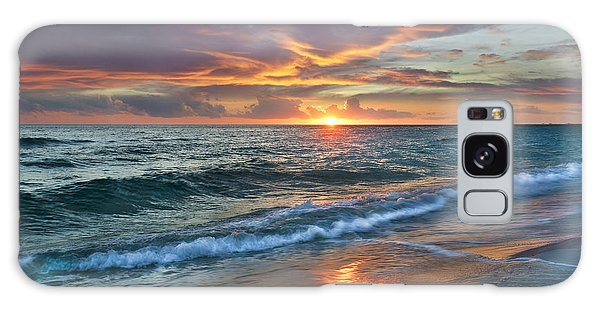Sunset Gulf Islands National Seashore Galaxy Case