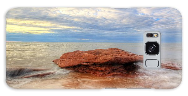 sunset hour at PEI National Park. Galaxy Case