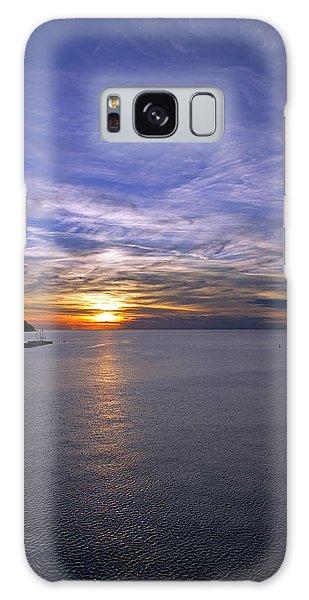 Sunset In Adriatic Galaxy Case