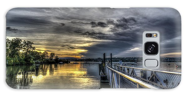 Sunset In Beacon Ny Galaxy Case by Rafael Quirindongo
