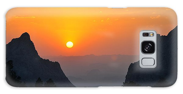 Sunset In Big Bend National Park Galaxy Case