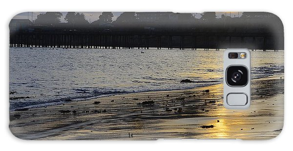 Sunset In Capitola Galaxy Case by Alex King