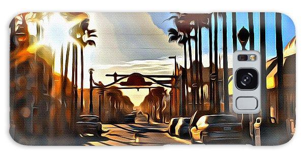 Sunset In Daytona Beach Galaxy Case