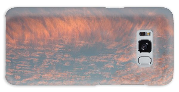 Sunset In Gainesville Galaxy Case by Lorna Maza