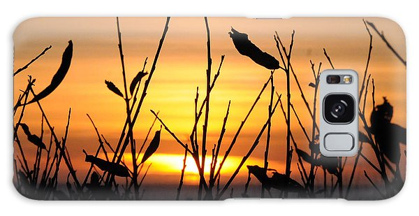 Sunset In Half Moon Bay Galaxy Case