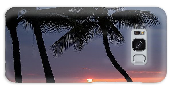 Sunset In Hawaii Galaxy Case by Athala Carole Bruckner