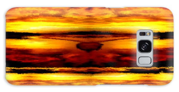 Sunset In Heaven Galaxy Case by Bruce Nutting