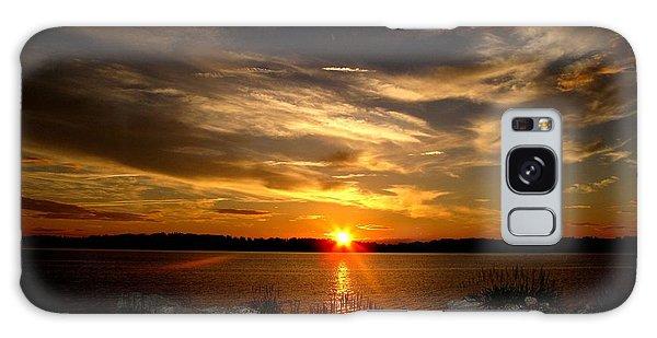 Sunset In Maine Galaxy Case
