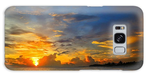 Scuba Diving Galaxy Case - Sunset In Paradise - Beach Photography By Sharon Cummings by Sharon Cummings