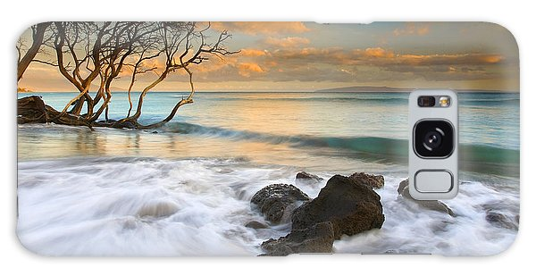 Tides Galaxy Case - Sunset In Paradise by Mike  Dawson